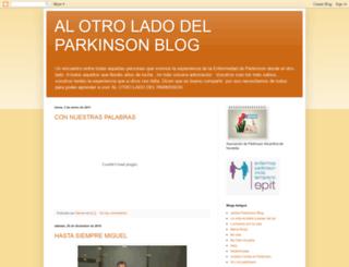 alotroladodelparkinson.blogspot.com screenshot