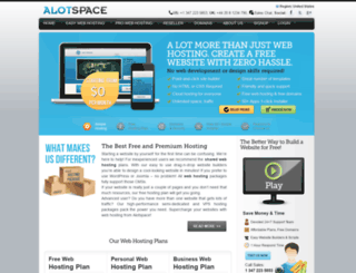 alotspace.com screenshot