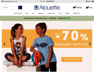 alouette.gr screenshot