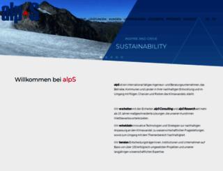 alp-s.at screenshot
