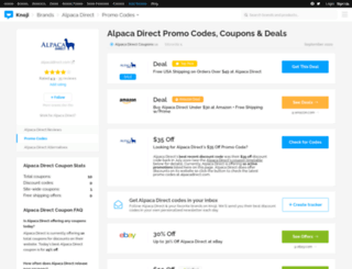 alpacadirect.bluepromocode.com screenshot