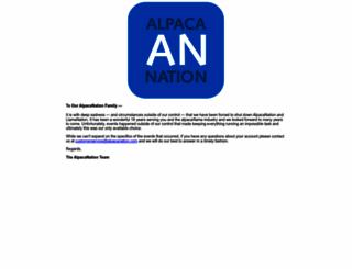 alpacanation.com screenshot