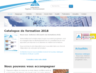 alpalab.fr screenshot