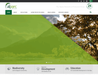 alparc.org screenshot