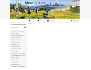 alpen-lifestyle.com screenshot