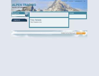 alpen-trading-de.de screenshot