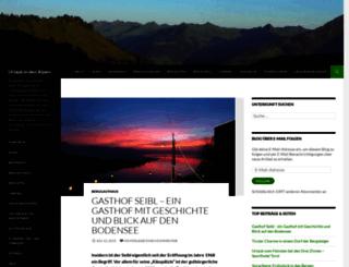 alpenguide.wordpress.com screenshot