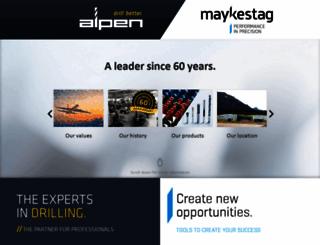 alpenmaykestag.com screenshot
