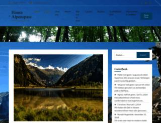 alpenspass.at screenshot