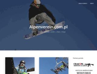 alpenverein.com.pl screenshot
