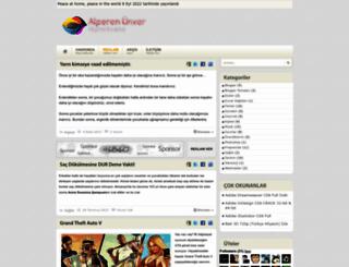 alperenunver.blogspot.com.tr screenshot