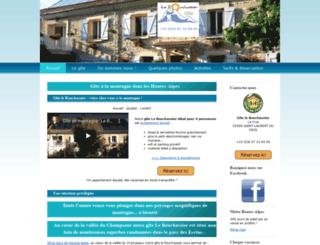 alpes-gite.com screenshot
