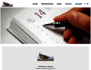 alpescatore.net screenshot