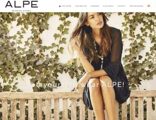 alpeteam.com screenshot
