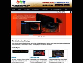 alpha-american.com screenshot