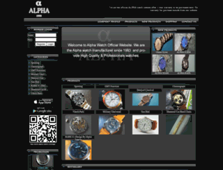 alpha-watch.com screenshot