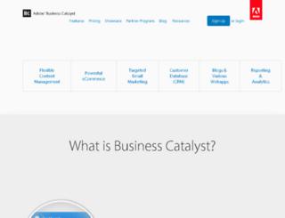 alpha.businesscatalyst.com screenshot