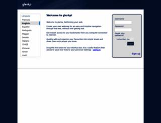 alpha.glerkp.com screenshot