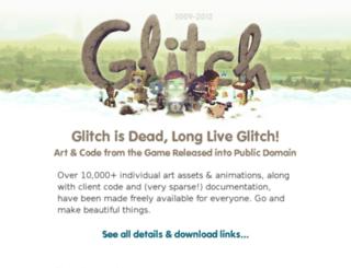 alpha.glitch.com screenshot