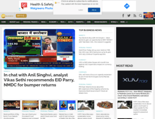 alpha.zeebiz.com screenshot