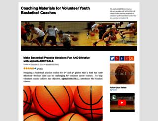 alphabasketball.wordpress.com screenshot