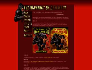 alphabetofmanliness.com screenshot