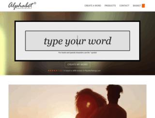 alphabetphotography.com screenshot