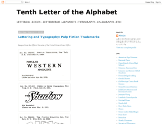 alphabettenthletter.blogspot.co.uk screenshot