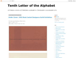 alphabettenthletter.blogspot.com.au screenshot