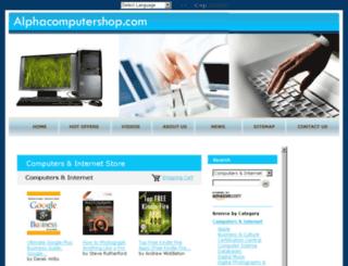 alphacomputershop.com screenshot