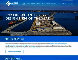 alphacorporation.com screenshot