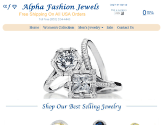 alphafashionjewels.com screenshot