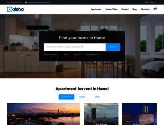 alphahousing.vn screenshot