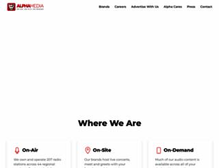 alphamediausa.com screenshot