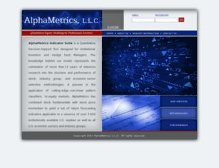 alphametricsllc.com screenshot
