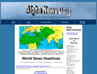 alphanewsdaily.com screenshot