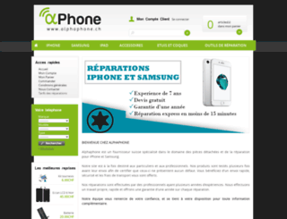 alphaphone.ch screenshot