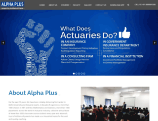 alphaplusdelhi.com screenshot