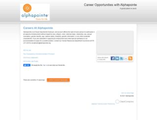 alphapointe.hrmdirect.com screenshot