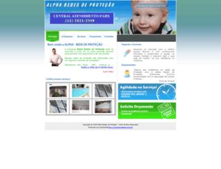 alpharedesdeprotecao.com.br screenshot