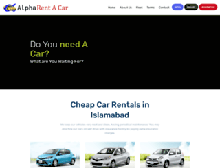 alpharent.com.pk screenshot