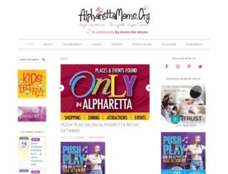 alpharettamoms.org screenshot