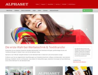 alphaset.at screenshot