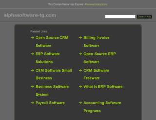 alphasoftware-tg.com screenshot