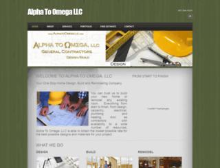 alphatoomegallc.com screenshot