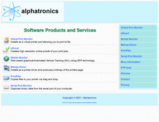alphatronics.com screenshot