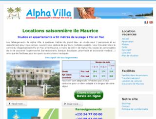 alphavilla.eu screenshot