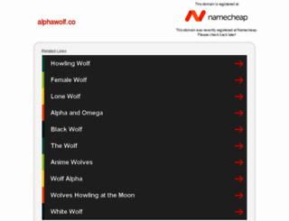 alphawolf.co screenshot