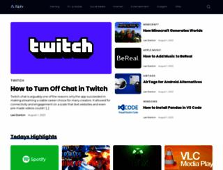 alphr.com screenshot