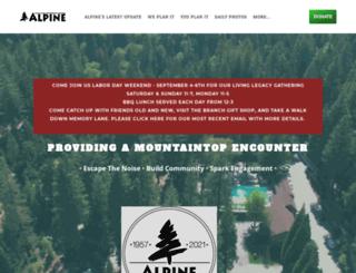 alpine-cc.org screenshot